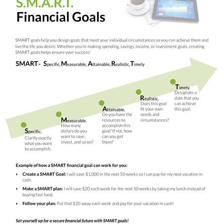 Creating SMART Financial Goals