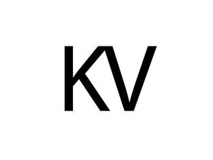 KV Minimal Logo