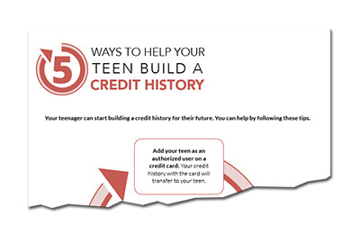 5 Ways to Help Your Teen Build a Credit History