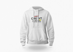 CREDIT IS KING Hoodie Mockup