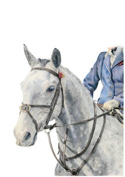 WAR HORSE 1918-2018 A3 PRINT