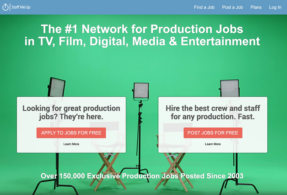 StaffMeUp Video Production Staffing