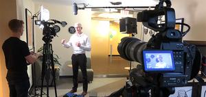 Camera Operator on Video Production Set