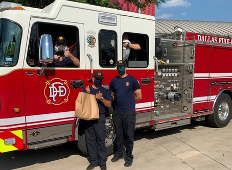 Helping Feed Firefighters with Thanks-Giving Foundation
