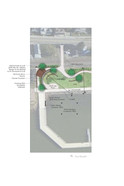 Waterfront park plan enlargement
