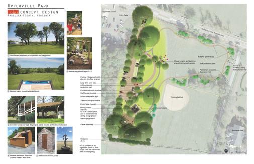 Upperville Park Concept Design