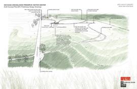 Modeled site sketch