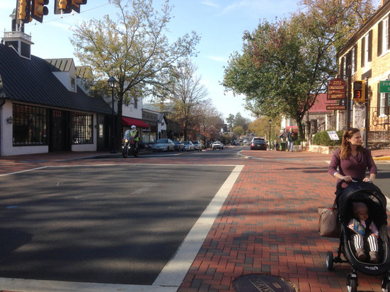 Middleburg streetscape renovations