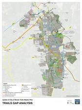 Trails Gap Analysis Map