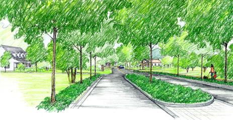 Splitter Island concept for Upperville