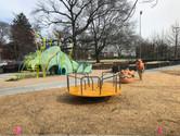 Public art and Merry-go-round
