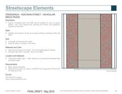 Crosswalk brick pattern