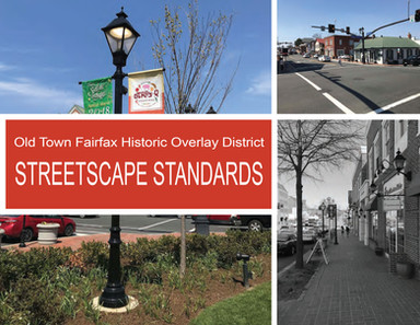 Old Town Fairfax Historic Overlay District Streetscape Standards