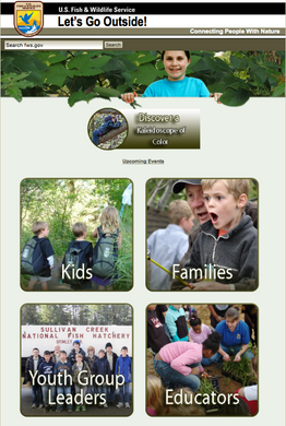 USFWS program for connecting people with nature played a key role in inspiring increased connectivity along the Illinois River.