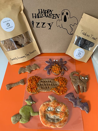Halloween Dog Biscuit Box