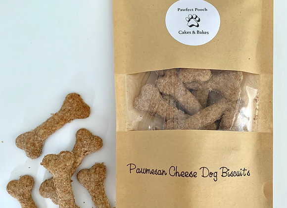 Pawmesan Cheese Dog Biscuits