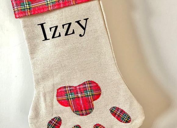 Personalised Christmas Pet Stocking