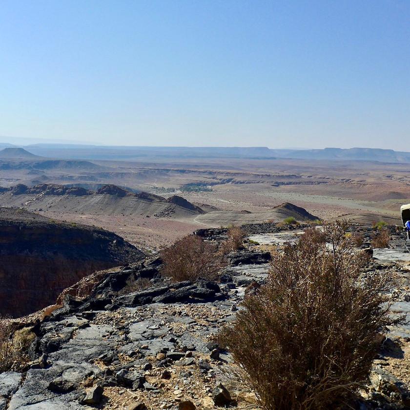 Canyon drive - Namibia safari