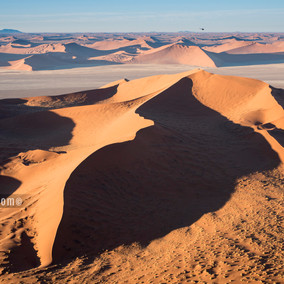 Sossusvlei - Aerial Photos of the vast dunes!