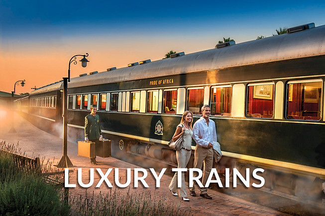 LUXURY TRAIN SOUTH AFRICA