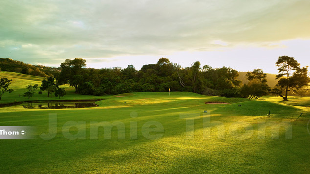 Plettenberg Bay Country Club 17th Par 4