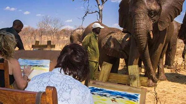 ELEPHANT ART & LUNCH