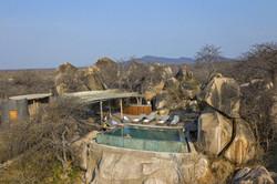 Jabali Ridge View of the pool area