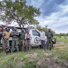 Take a Walk with the Scorpions of Hwange, on a luxury Zimbabwe safari!