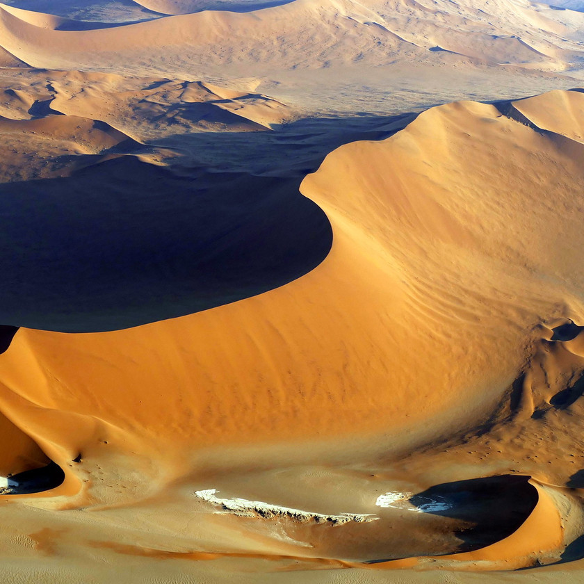 The great dunes of Namibia