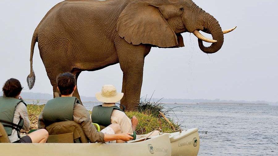 CANOE THE ZAMBEZI