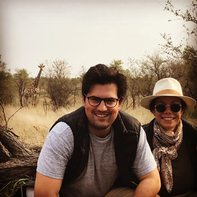 All Smiles for Ana & Robby on a Honeymoon Safari in South Africa