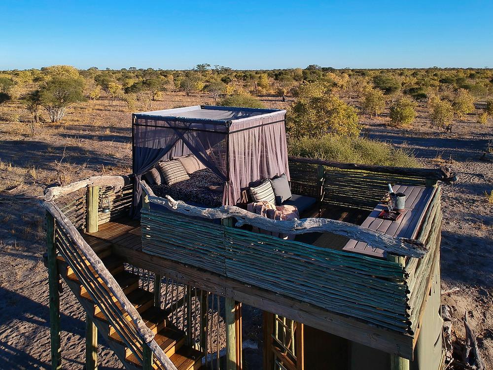 Sky Bed, Khwai, Botswana