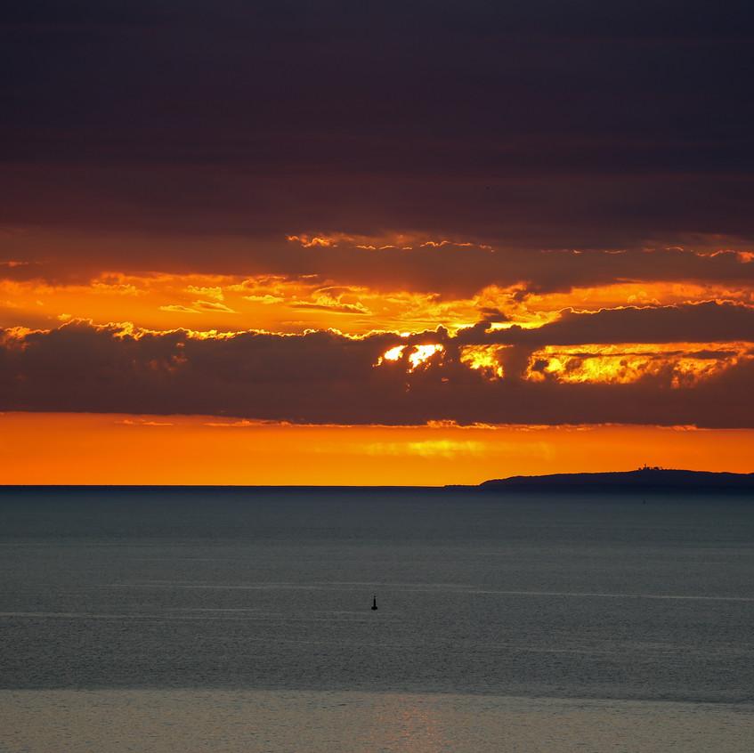Orange Polana sunrise