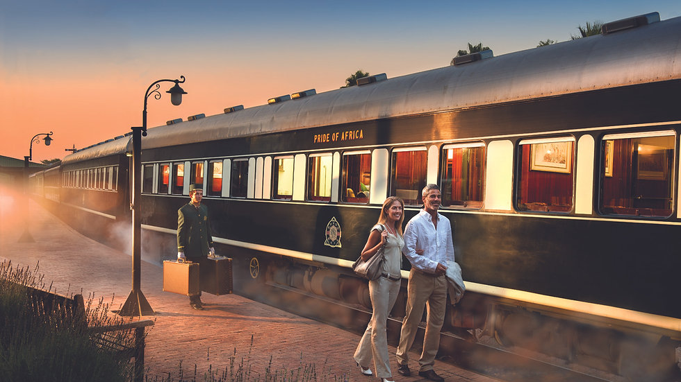 LUXURY TRAIN PRETORIA to CAPE TOWN - 2nts