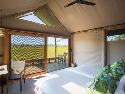 New camp - Jackal & Hide, Khwai