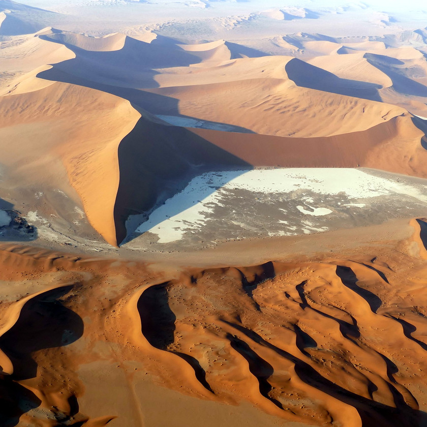 Flying safari Namibia