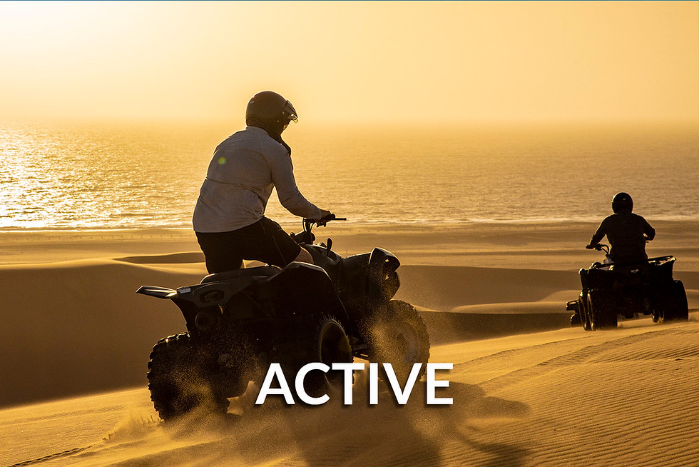ACTIVE & ADVENTURE SAFARIS