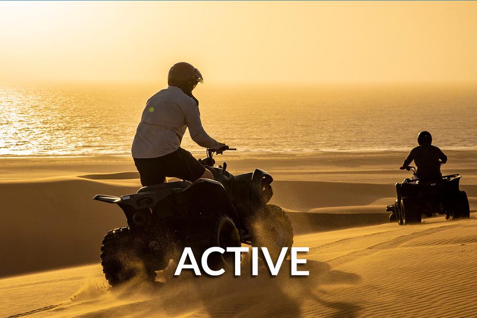 ACTIVE & ADVENTURE SAFARIS