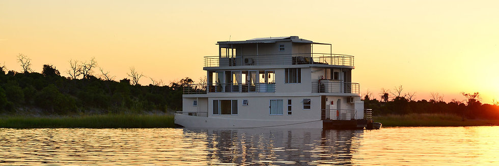 CHOBE HOUSE BOAT - 3 Nights