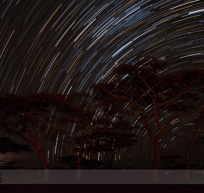 Ndutu star trails 1