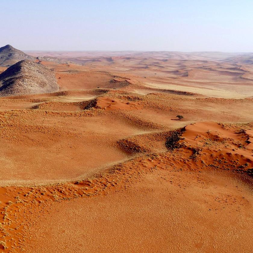 dune ridges - Namibia safari