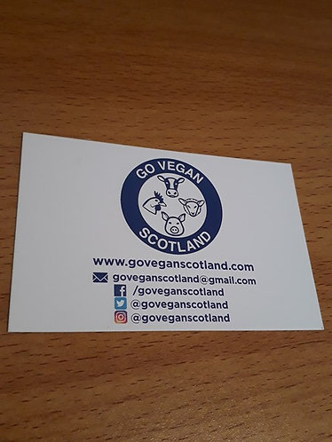 GVS information cards x 30