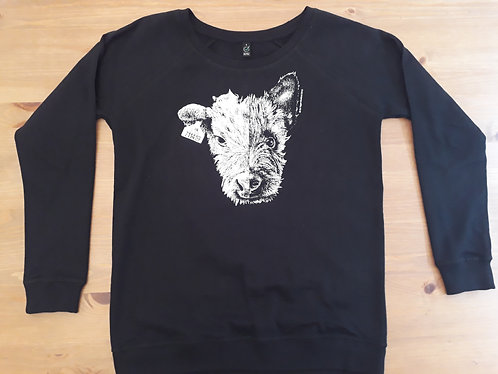 GVS Cow/Dog Raglan Sweatshirt