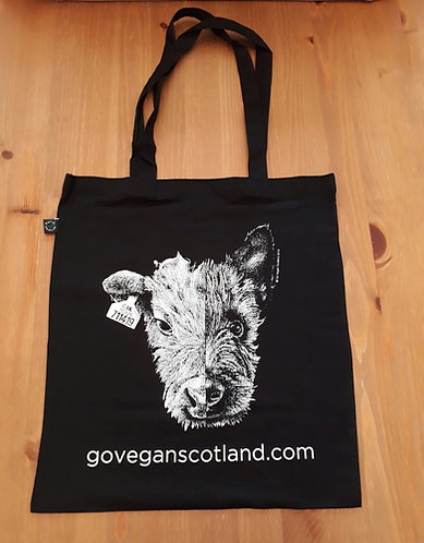 GVS Earth Positive Cow/Dog Tote Bag