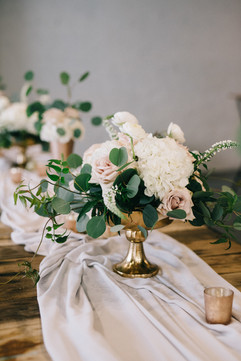 Plenty Mercantile - Centerpiece - Summer WEdding - Hydrangea - OKC