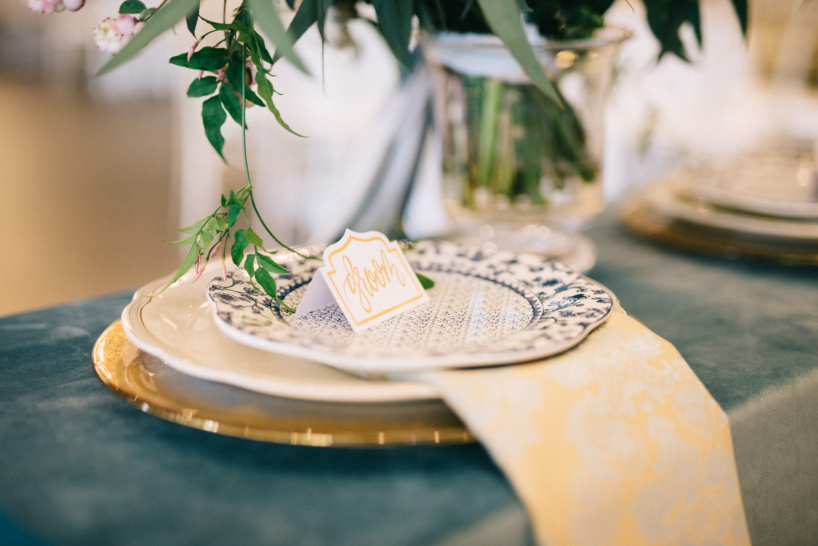 Head-Table-Place-Setting