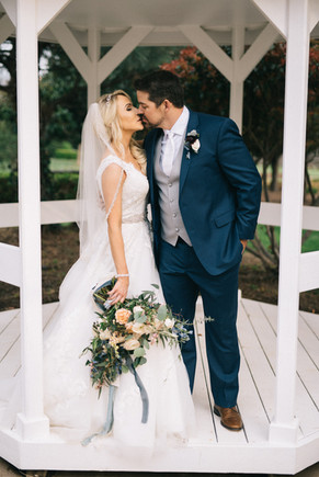 Garden-Pergola-Wedding-Kiss