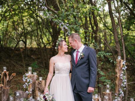 Wedding Wednesday: Forrest Fairytale