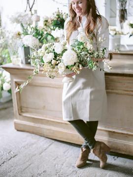 Spring Centerpiece - Peonies - Garden Roses - Garden Style - OKC