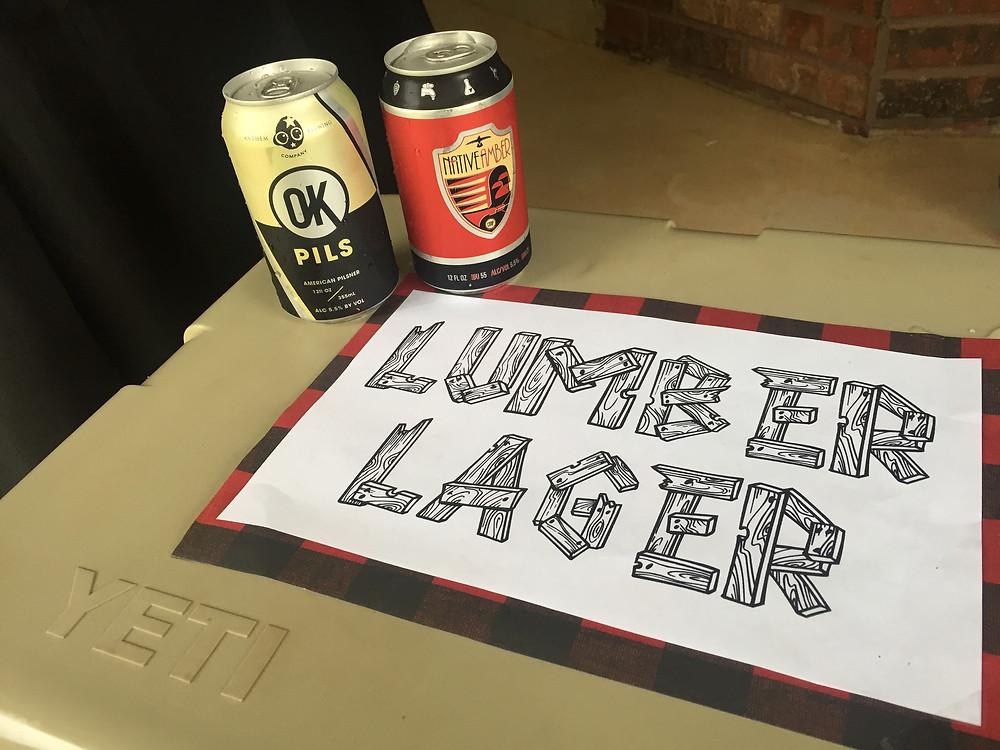 Lumberjack Party Lumber Lager